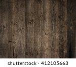 brown wood background. grunge  | Shutterstock . vector #412105663