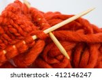 Knitting With Wool Thick Soft...