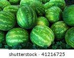 watermelons | Shutterstock . vector #41216725