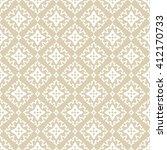 vintage floral pattern.... | Shutterstock . vector #412170733
