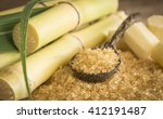 closeup granulated brown in a... | Shutterstock . vector #412191487