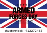 armed forces day in the united... | Shutterstock .eps vector #412272463