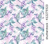 watercolor seamless pattern... | Shutterstock . vector #412275523