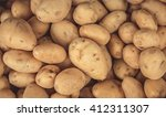 brown potato | Shutterstock . vector #412311307