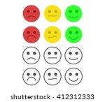 customer feedback or user... | Shutterstock .eps vector #412312333