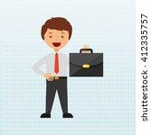 business person design  | Shutterstock .eps vector #412335757
