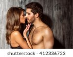 beautiful sexy young people in... | Shutterstock . vector #412336723
