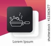 pot line icon | Shutterstock .eps vector #412382677
