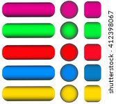 set of multicolored buttons... | Shutterstock .eps vector #412398067