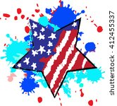 happy independence day united... | Shutterstock .eps vector #412455337