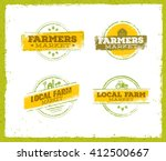 local farm logo   local farm... | Shutterstock .eps vector #412500667