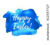 happy easter vector... | Shutterstock .eps vector #412557727