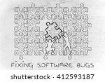 fixing software bugs  men