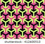 arrow shaped vector pattern in...