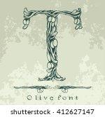 binding flowering branches of... | Shutterstock .eps vector #412627147