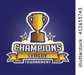 champion sports league logo... | Shutterstock .eps vector #412655743