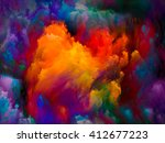 dynamic color series. creative... | Shutterstock . vector #412677223