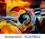colors of the mind series.... | Shutterstock . vector #412678813