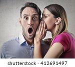 a terrible secret | Shutterstock . vector #412691497