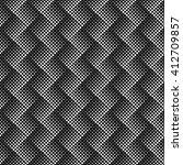 seamless vector halftone zig... | Shutterstock .eps vector #412709857