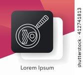 pot line icon | Shutterstock .eps vector #412741813