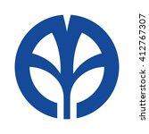 letter aa logo vector. | Shutterstock .eps vector #412767307