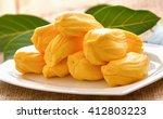 sweet jackfruit  tropical fruit   Shutterstock . vector #412803223