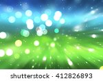 abstract green and blue... | Shutterstock . vector #412826893