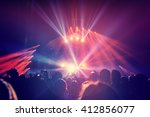 large group of a happy young...   Shutterstock . vector #412856077