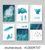 business brochure design... | Shutterstock .eps vector #413009737