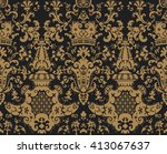 seamless pattern in the style... | Shutterstock .eps vector #413067637
