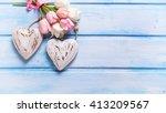 Romantic Background. Tender...