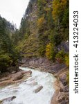 canyon  | Shutterstock . vector #413224033