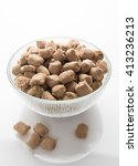 freeze dried cat or dog food... | Shutterstock . vector #413236213