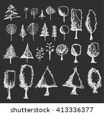 vector collection of chalkboard
