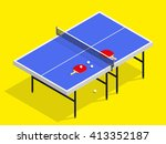 isometric table tennis with...