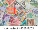 variety of the african banknotes | Shutterstock . vector #413353897