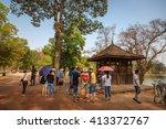 siem raep  cambodia   april... | Shutterstock . vector #413372767