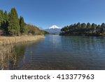 lake tanuki | Shutterstock . vector #413377963