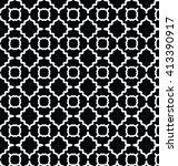 geometric pattern. editable... | Shutterstock .eps vector #413390917
