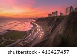 Night Panoramic View Of The...
