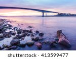 Long Exposure Seascape Of The...