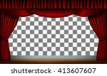 Transparent Frame Of Stage Wit...
