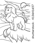 Coloring Pages. Animals. Cute...