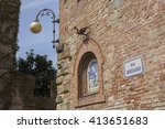 a scene from the italian... | Shutterstock . vector #413651683