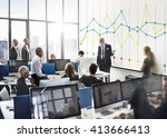 finance report accounting... | Shutterstock . vector #413666413