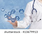 new technologies for life | Shutterstock . vector #413679913
