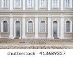 facade designed in neo... | Shutterstock . vector #413689327