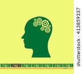 vector illustration of a... | Shutterstock .eps vector #413859337