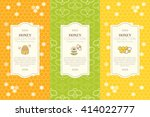 vector packaging template with... | Shutterstock .eps vector #414022777